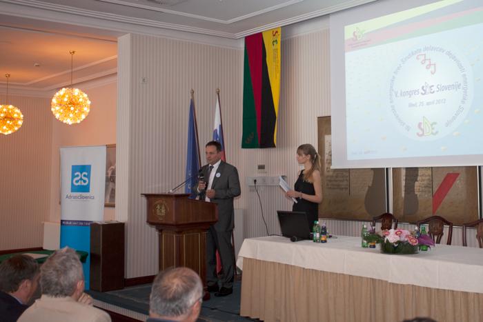 V. kongres SDE Slovenije